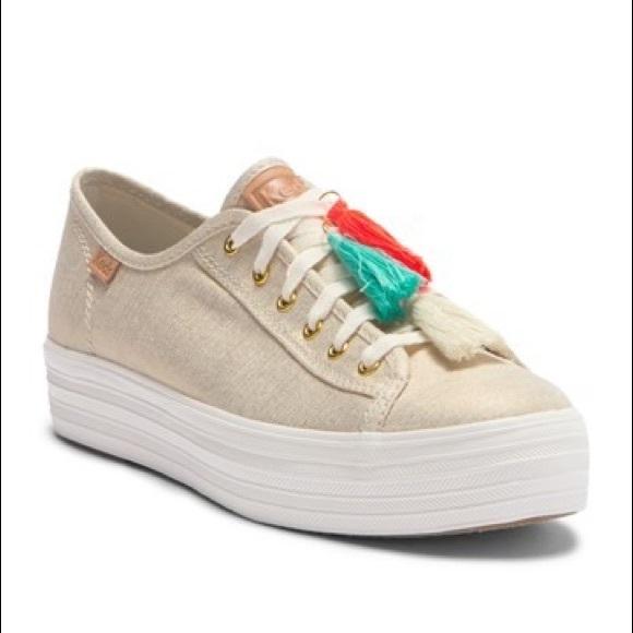 f6523ae4aeed Keds Triple Kick Tassel Platform Sneaker NWT